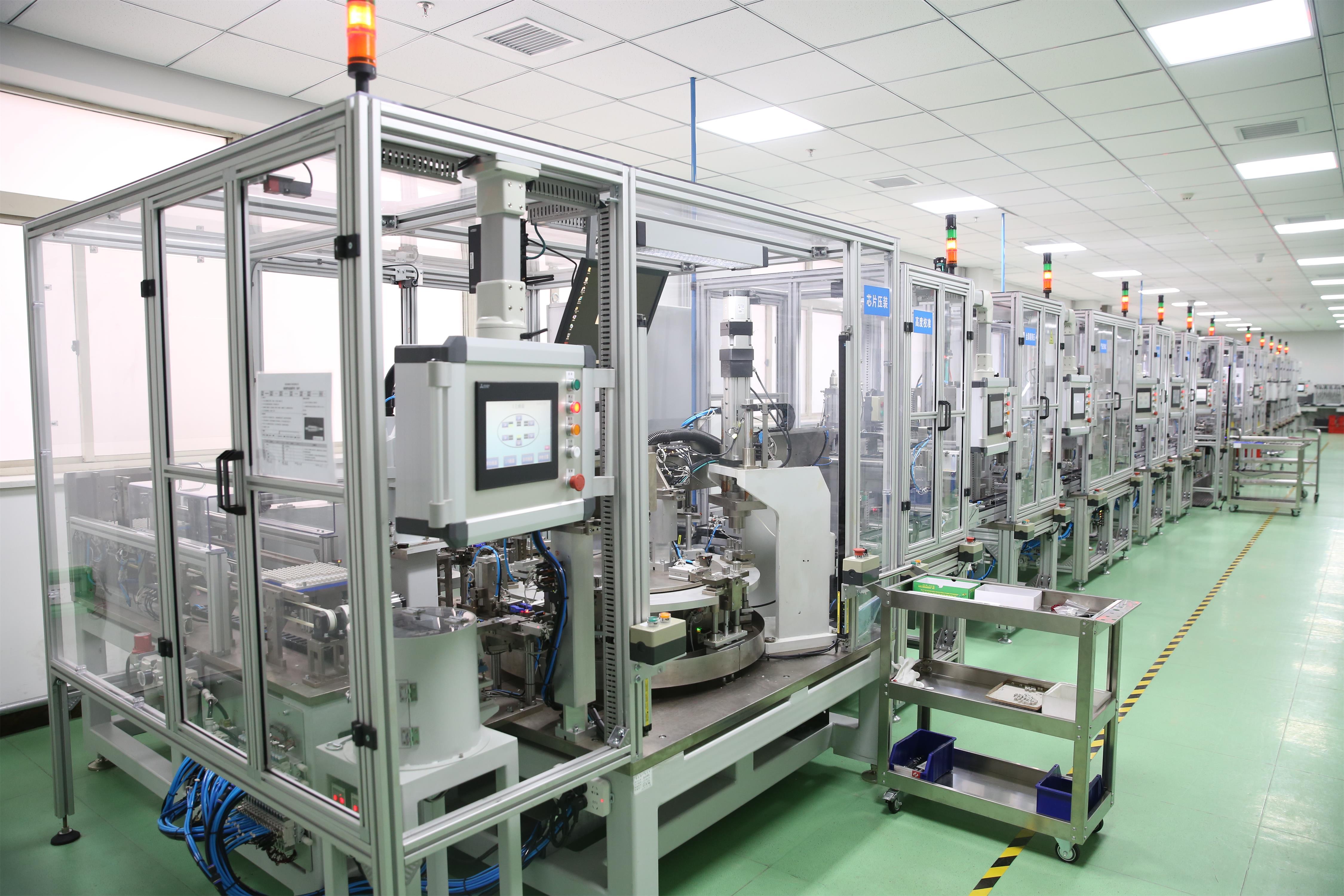 8创研公司氮氧传感器自动化封装线