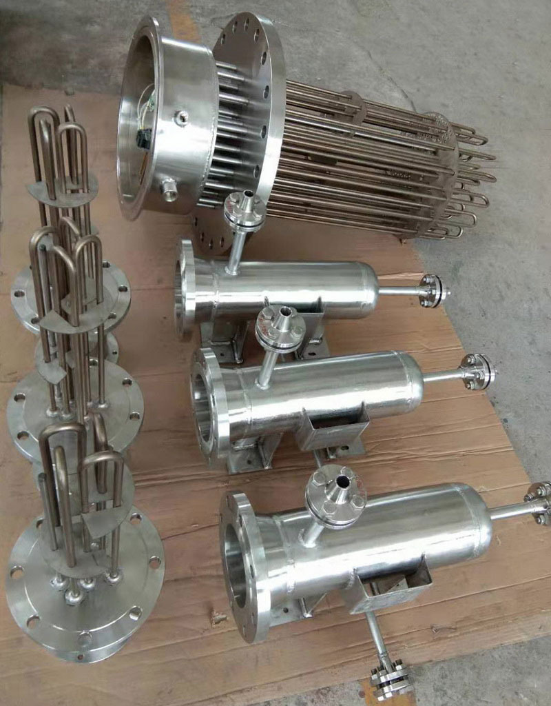 Air separation electric heater