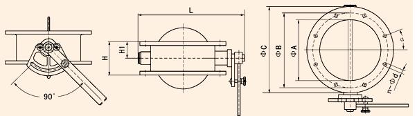 沈阳蝶阀:蝶阀的结构详细图解特点及原理