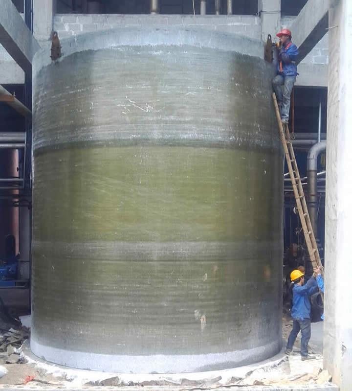 广西福斯特环保玻璃钢储罐