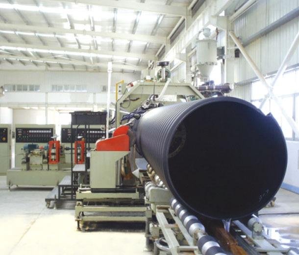 鋼帶加強型聚乙烯螺旋漣漪管