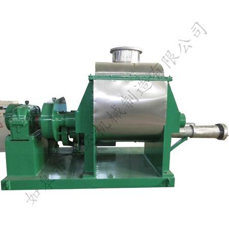 Vacuum kneading machine