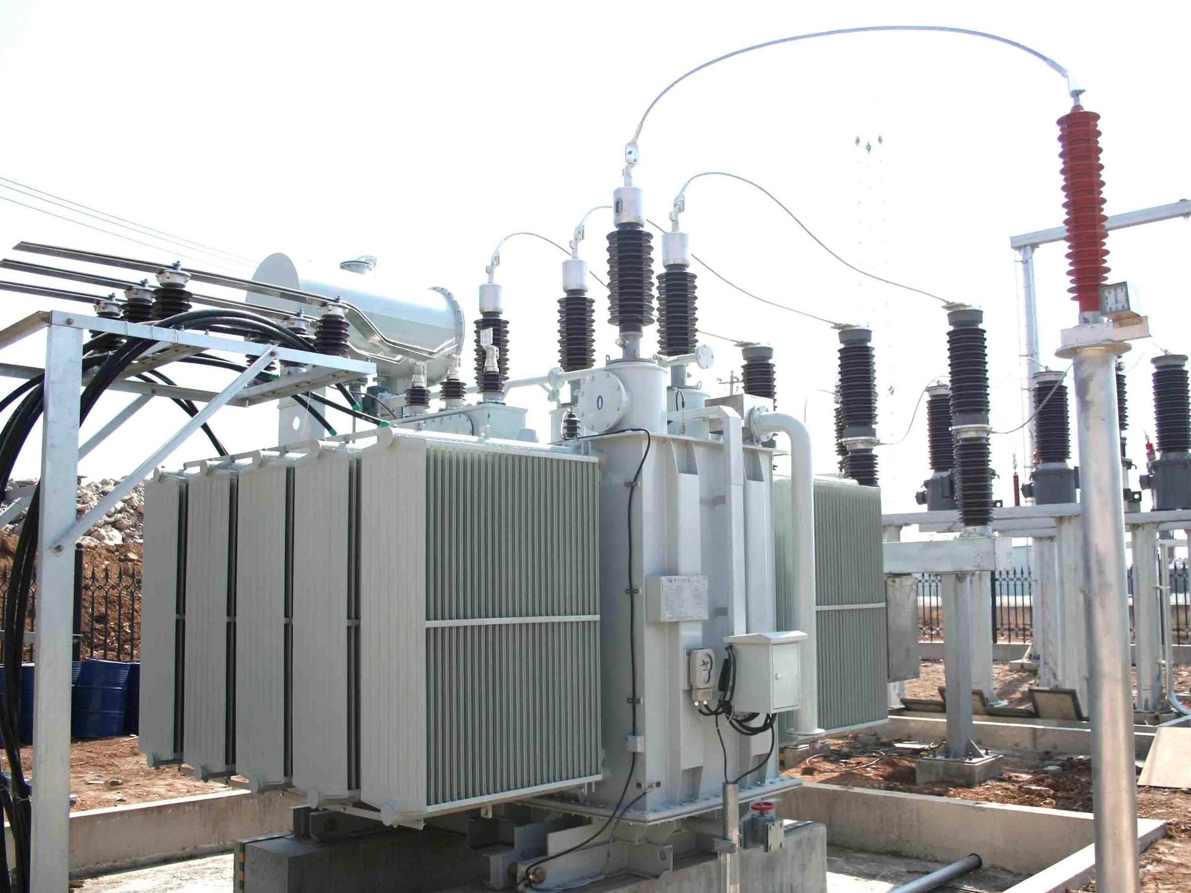 呼伦贝尔根河供电公司66kV伊图里河等4座变电站