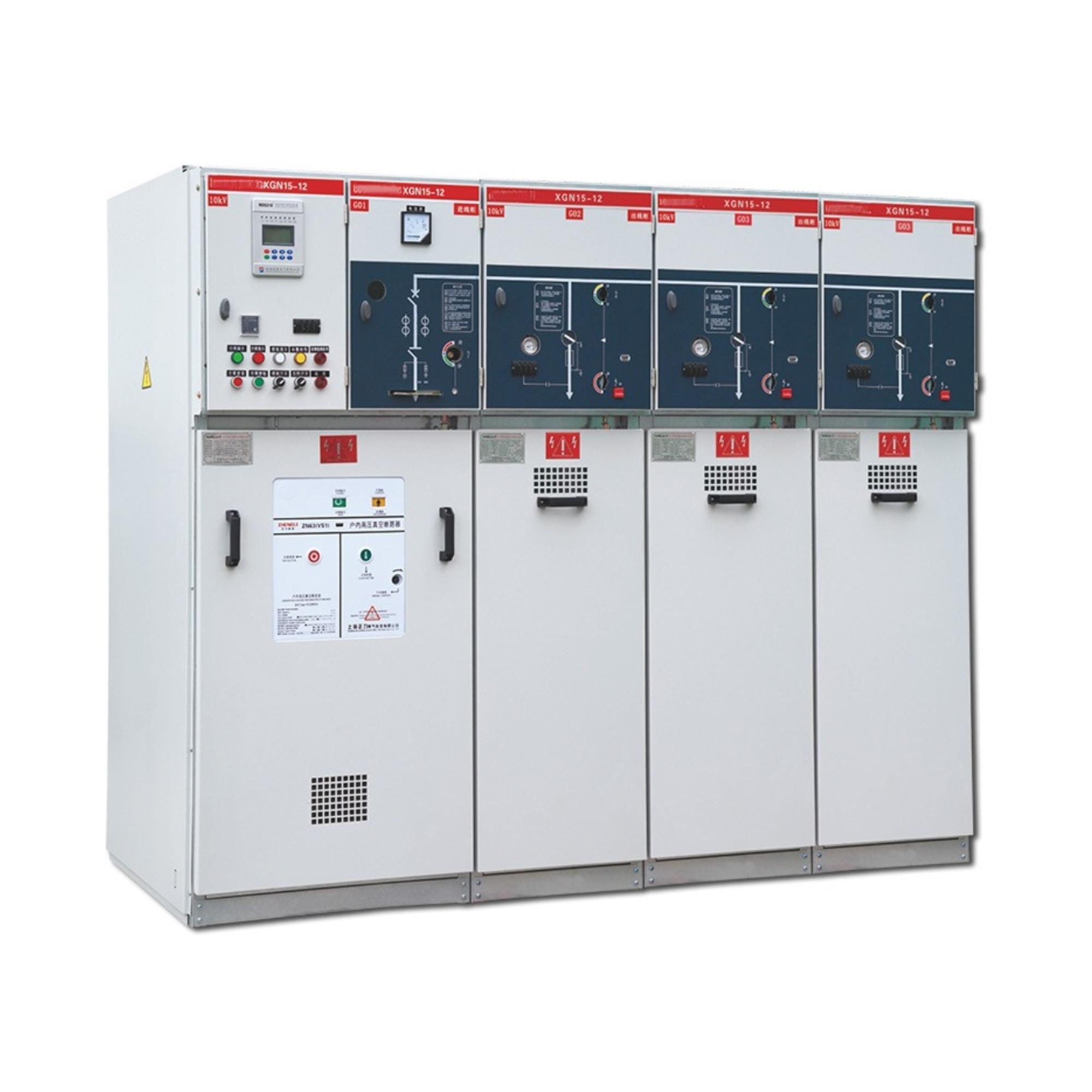单元式交流金属封闭环网开关设备HXGN15-12(SF6)