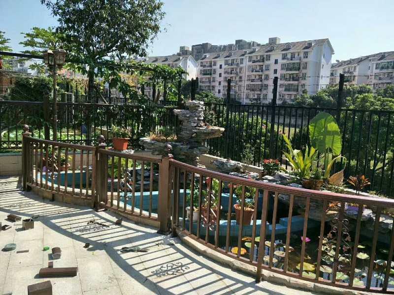海南铝艺阳台栏杆