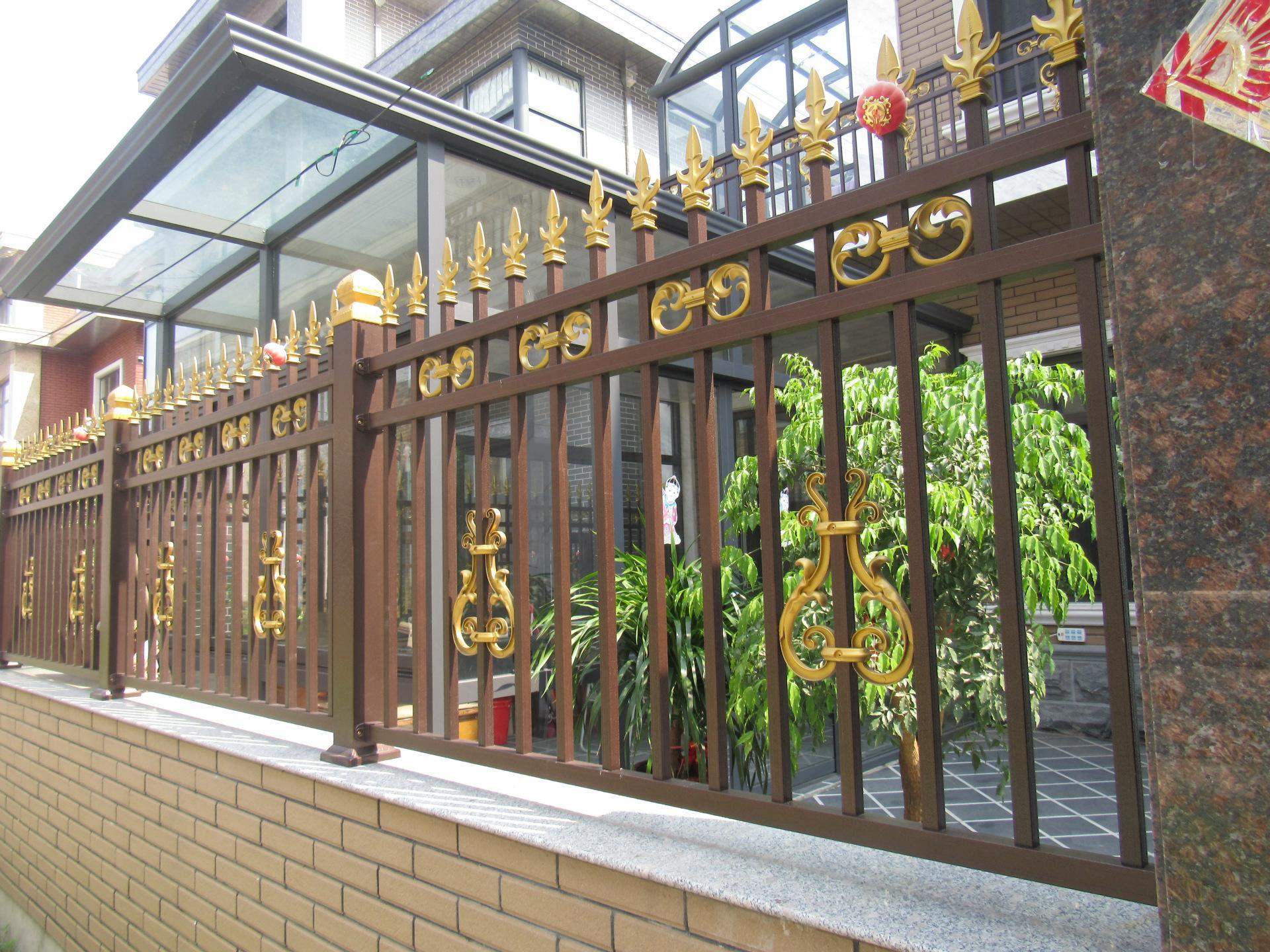海南三亚铝艺围栏施工设计