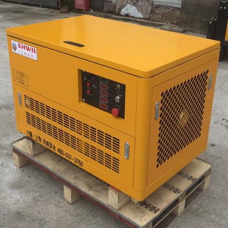 10KW汽油发电机-静音移动系列