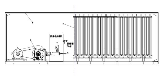 集成化增压汽化系统