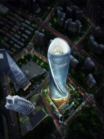 632米的上海中心大厦