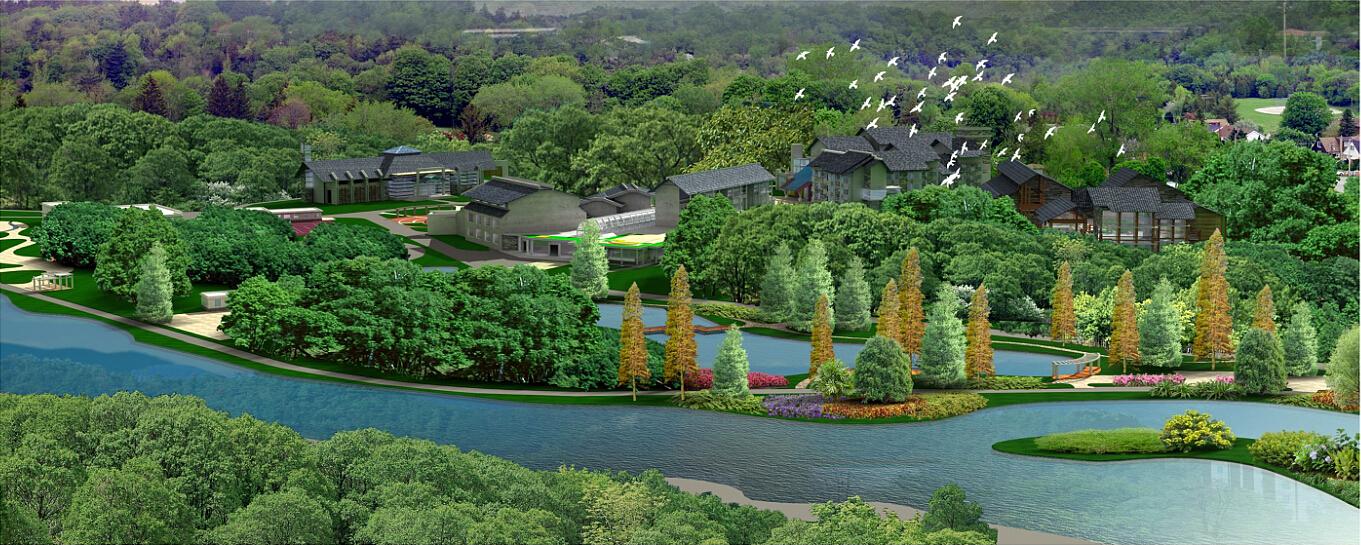 貴陽花溪賓館景觀設計