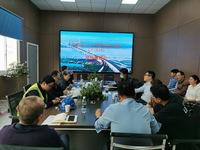 镇江蓝舶科技常泰长江大桥CT-A7标项目顺利通过业主履约检查