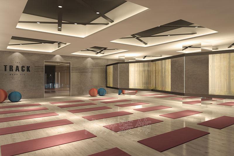 杭州健身房装修,杭州健身房装潢设计,杭州健身房装修效果图,杭州装修公司
