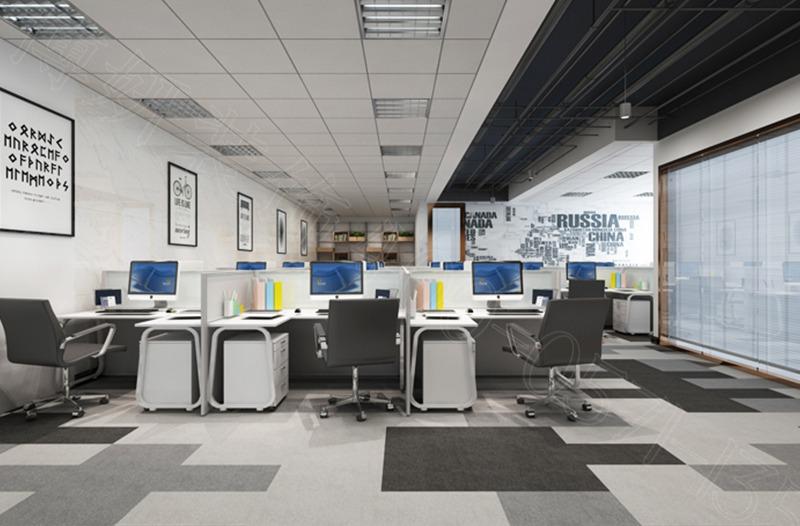 IFC互聯網+金融中心辦公室裝修