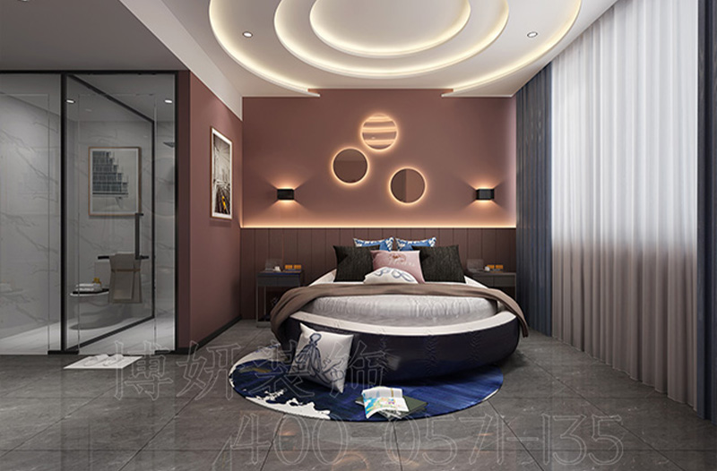 宁波电竞酒店装修案例