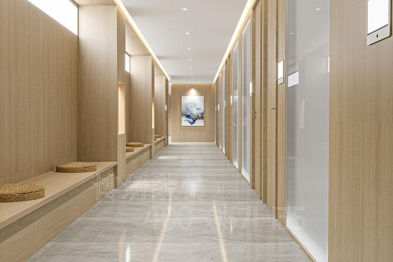 杭州新中式风格中医馆装修设计 - 装修效果图