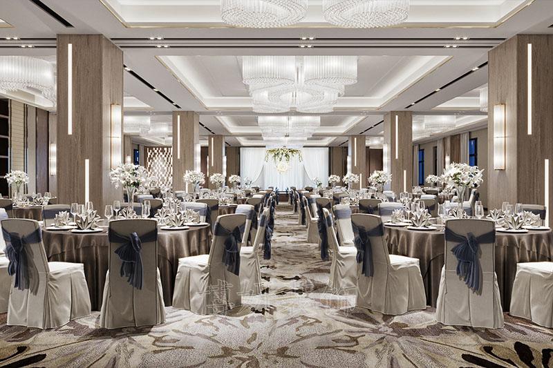 全新风格高端酒店设计案例