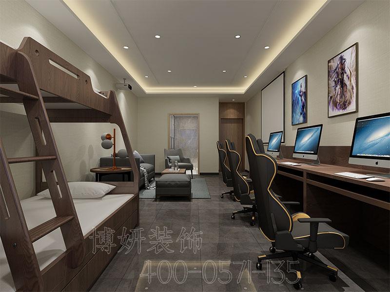 杭州电竞酒店装修设计案例