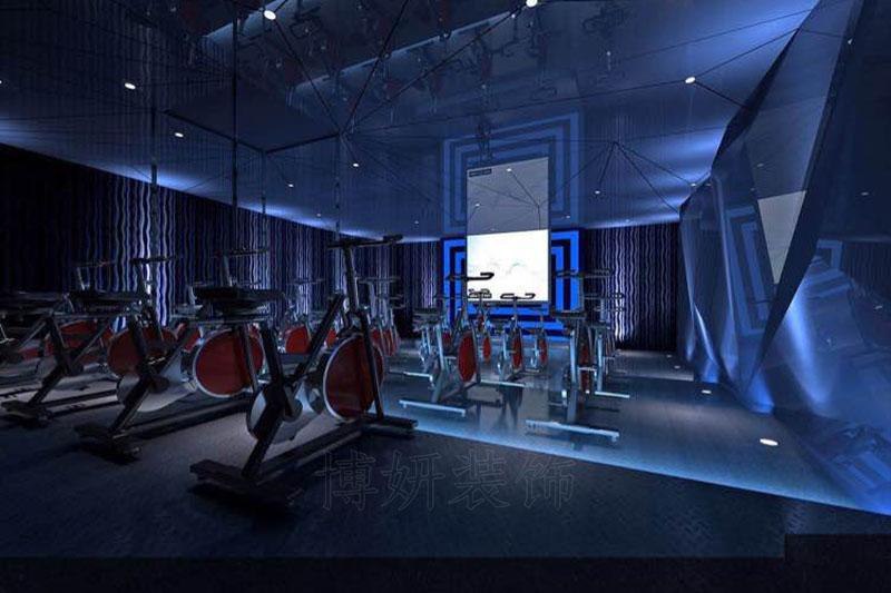 杭州健身会所装修公司装修案例