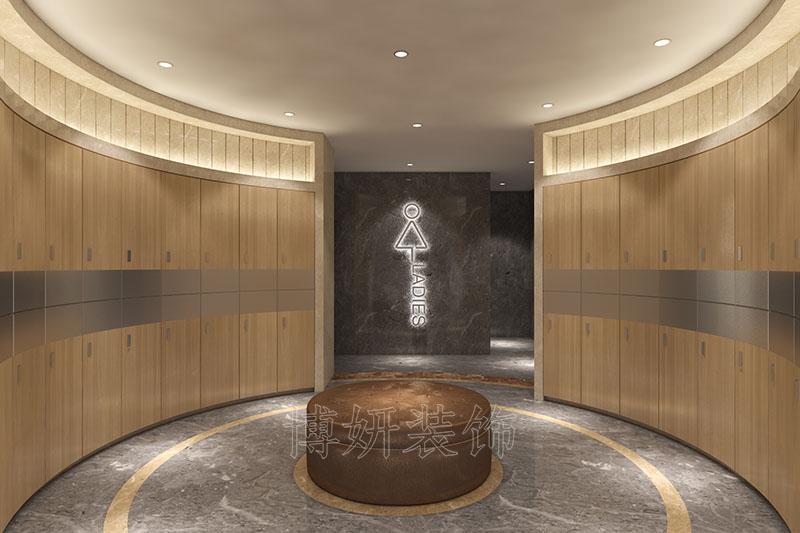 杭州下沙健身房健身会所装修设计案例