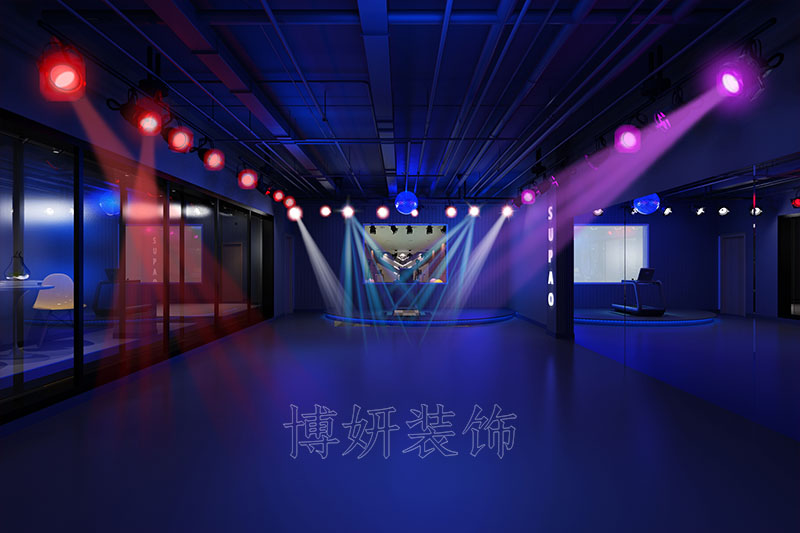 杭州滨江运动馆装修设计案例