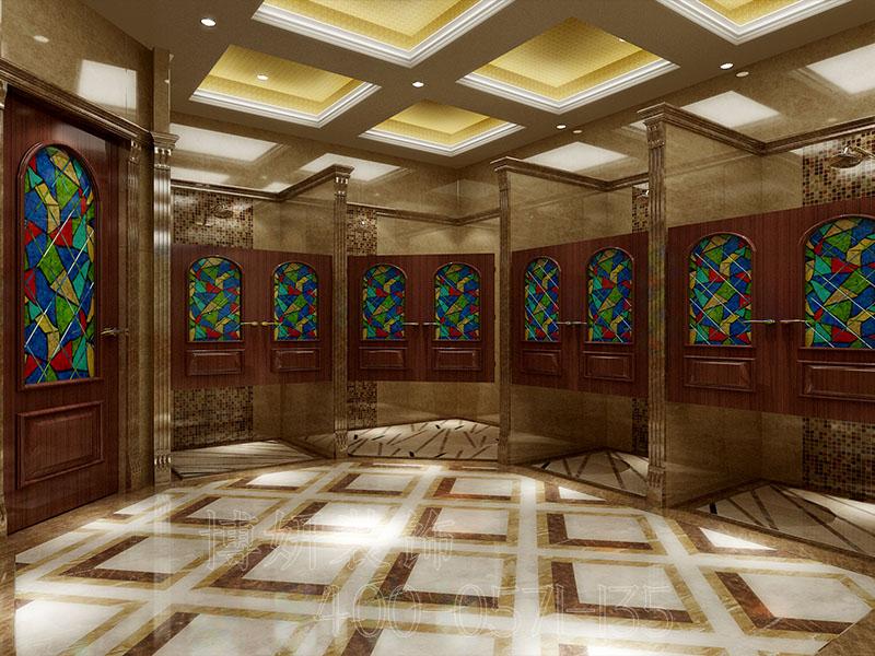 杭州高档洗浴中心装修设计案例