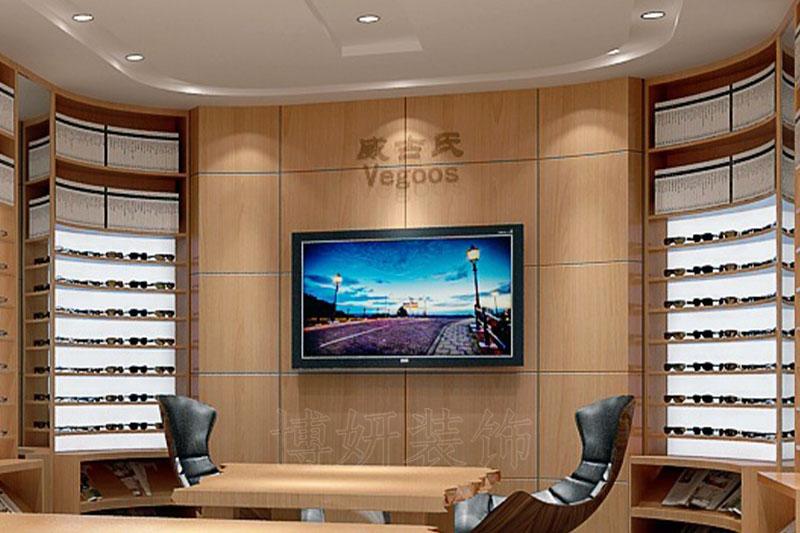 杭州精美时尚眼镜店装修设计