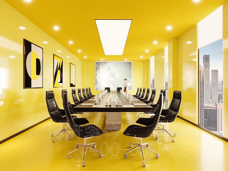 1200方服装公司办公室装修设计案例