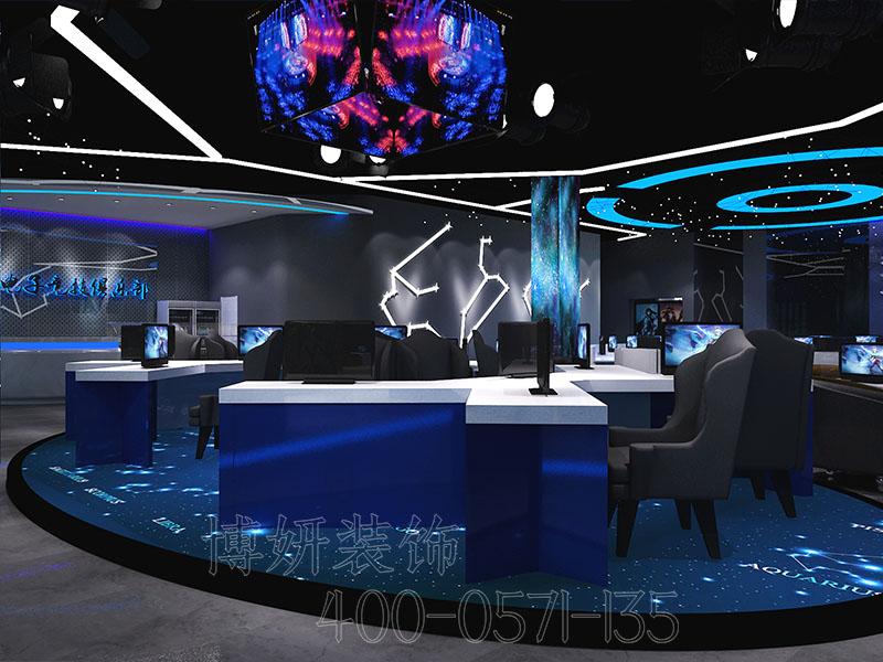 电子竞技俱乐部装修设计案例