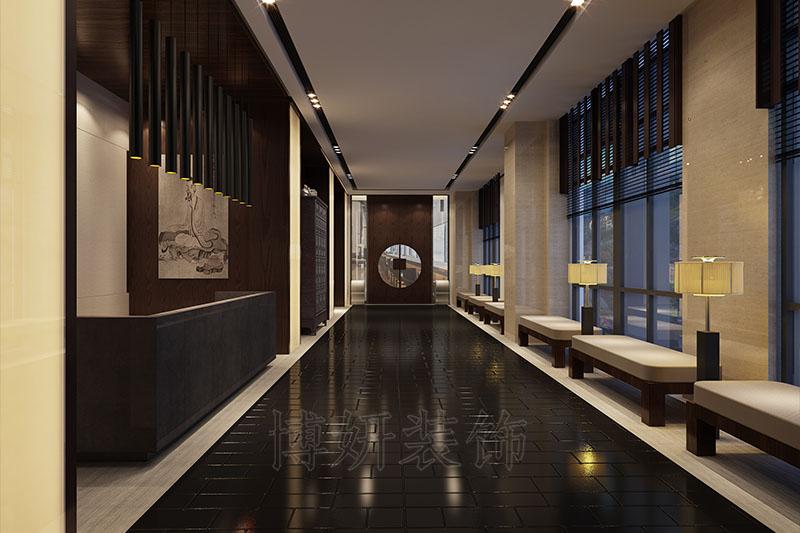 杭州书画展厅装修,杭州书画展厅装潢设计,杭州书画展厅装修效果图,杭州装修公司