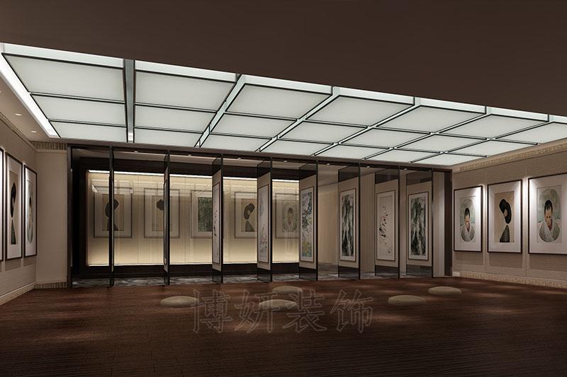 高端私人会所设计案例|文化展厅装修设计