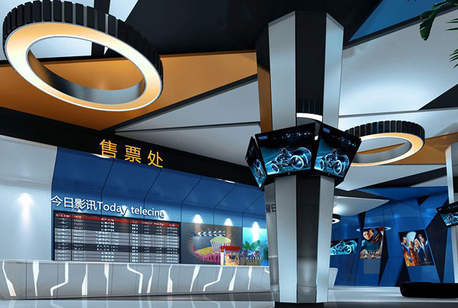 杭州电影院装修,杭州电影院装潢设计,杭州电影院装修效果图,杭州装修公司