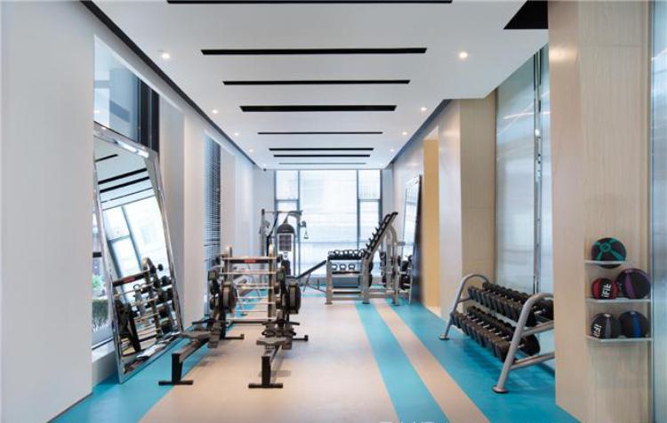杭州健身房装修,健身房装修效果,杭州靠谱装修公司