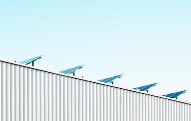 楼顶聚居太阳能光伏