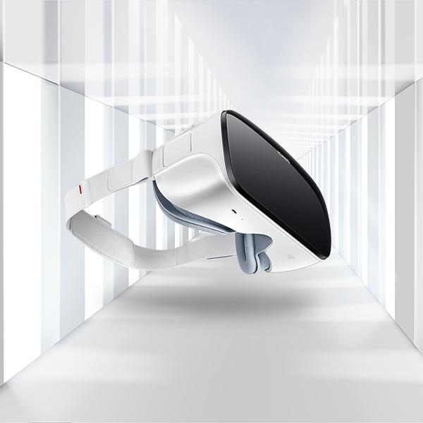 白色VR眼镜