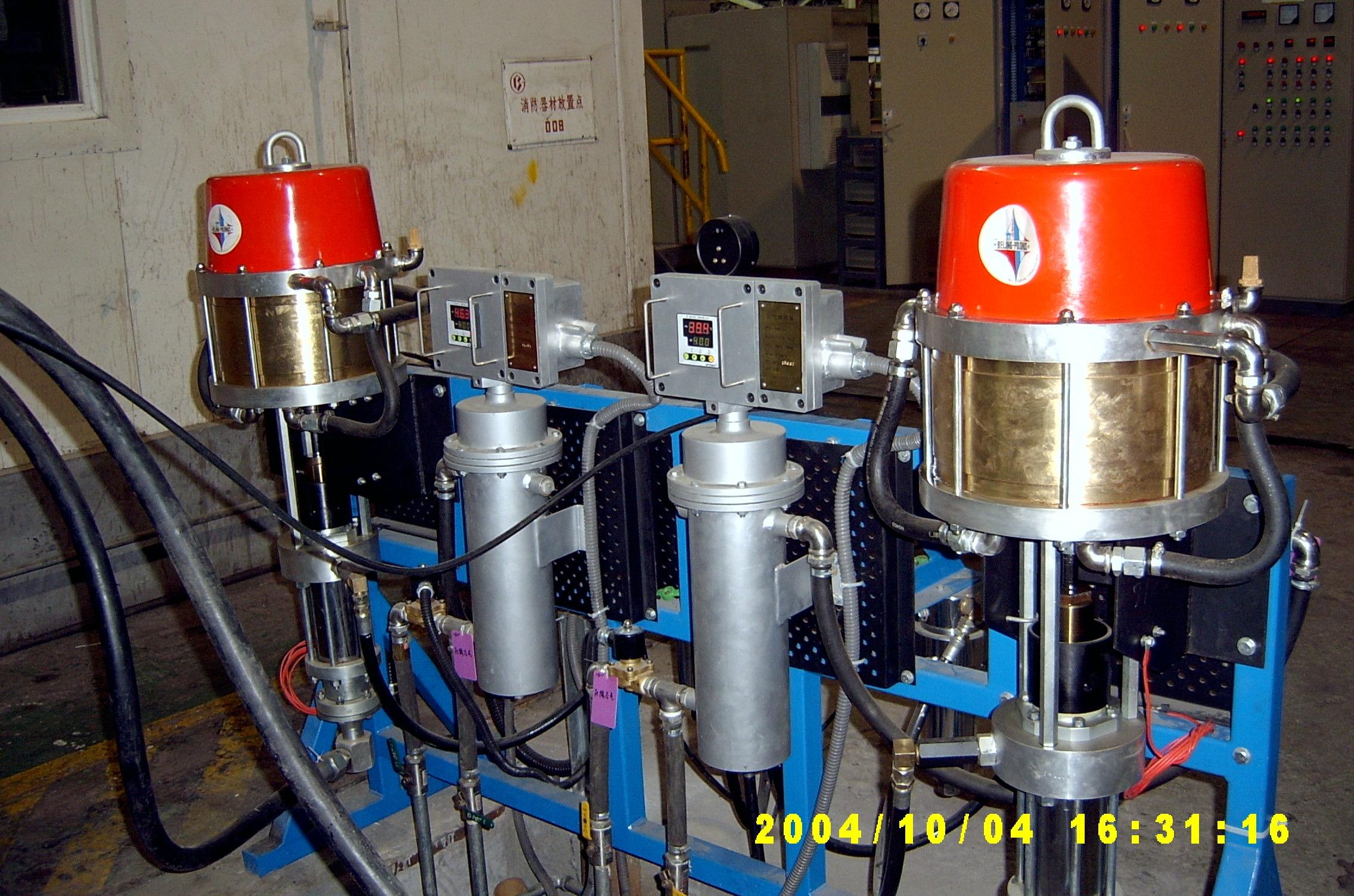 涂料輸送及加熱系統
