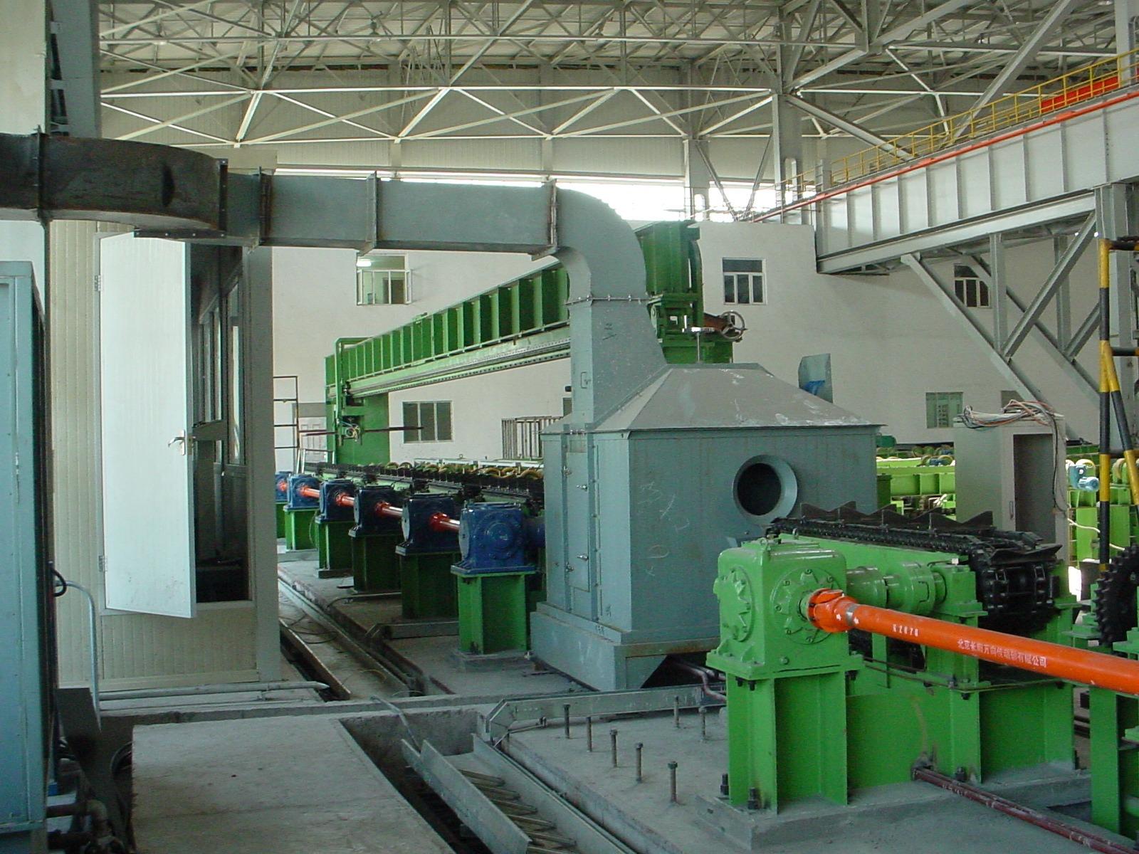 鋼管自動噴涂系統