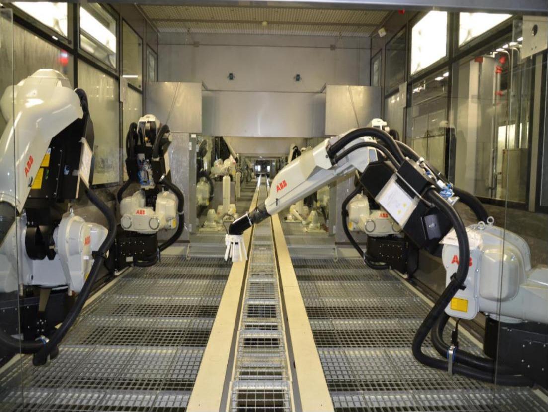 機器人自動噴涂