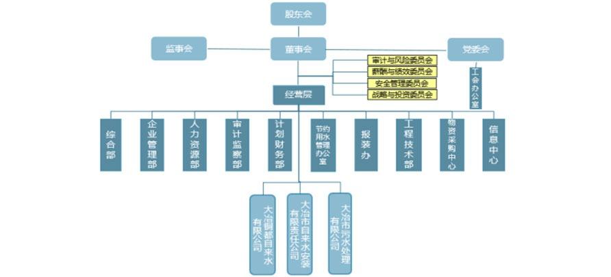 集团公司组织架构