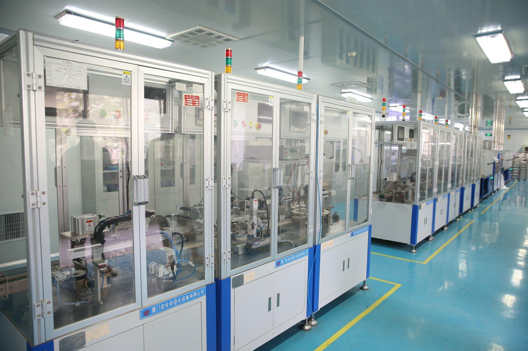 6華茂公司宇高電容器自動化生產線