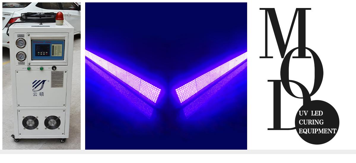 UVLED光固化原理和优势