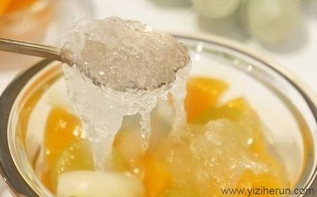 颐滋和润燕窝食谱——黄桃燕窝