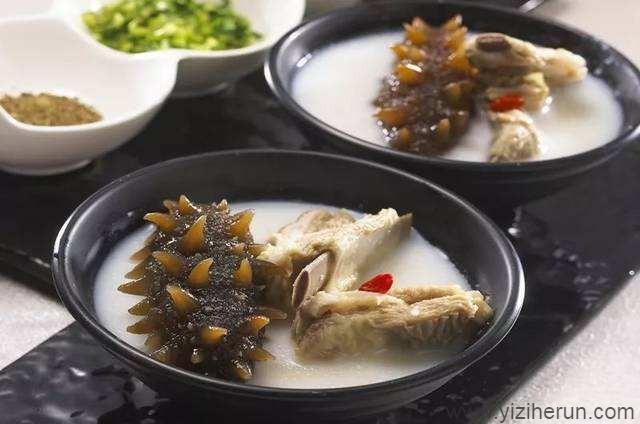颐滋和润海参食谱——海参排骨汤