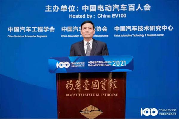 工信部部长肖亚庆:加大新能源汽车推广应用力度145