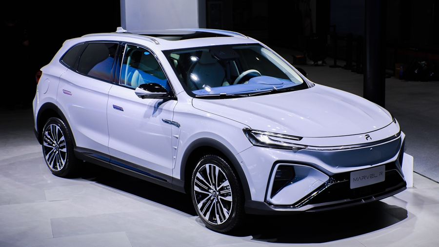 首款5G汽车来了,MARVEL R将于2月7日上市
