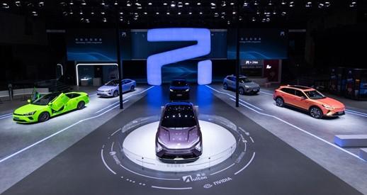 NVIDIA DRIVE在上海车展上大放异彩