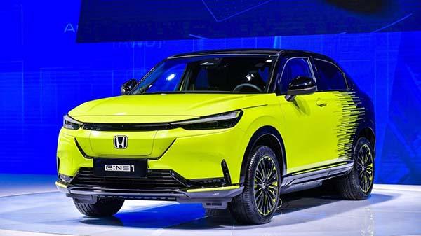 东风Honda  e:NS1亮相武汉车展