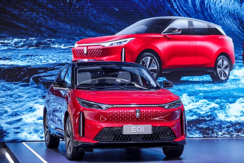 一汽奔腾全新纯电架构E01北京车展正式上市