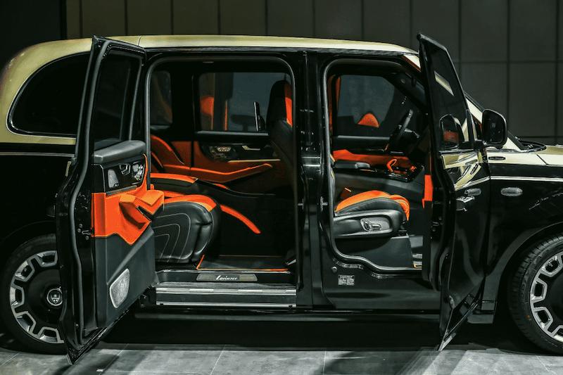 LEVC与罗伦士联名推出首款增程纯电高端定制车型LX,已开启预售