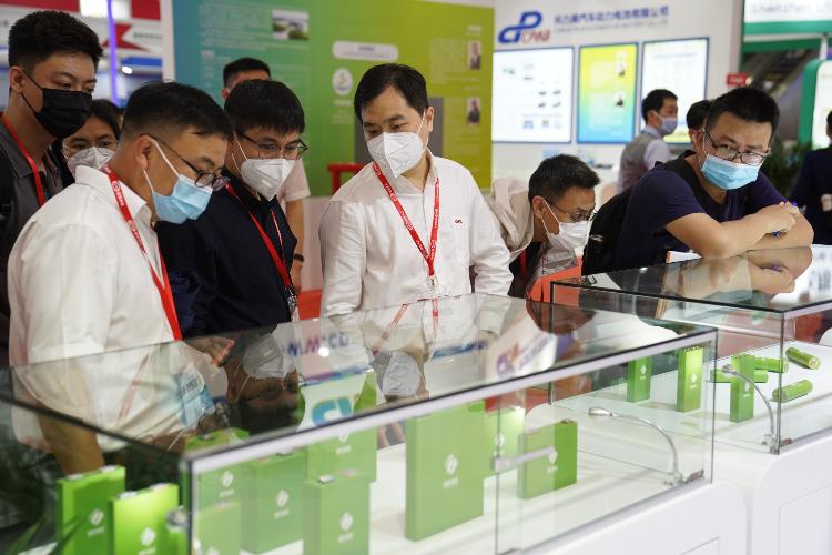 国轩高科软包模组亮相深圳国际电池展