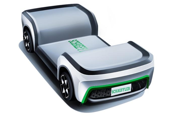 舍弗勒电机、燃料电池解决方案、线控一体化底盘等多款创新产品首次亮相上海车展